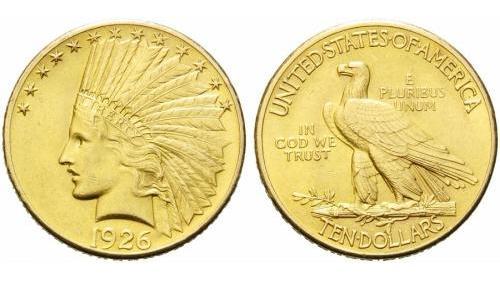 10 dollari indiani