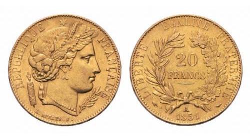 20 Franchi francesi (Marengo)